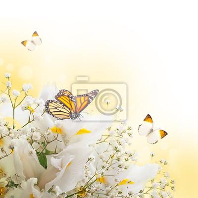 """Постер Цветы """"Постер 52239311"""", 20x20 см, на бумаге от Artwall"""
