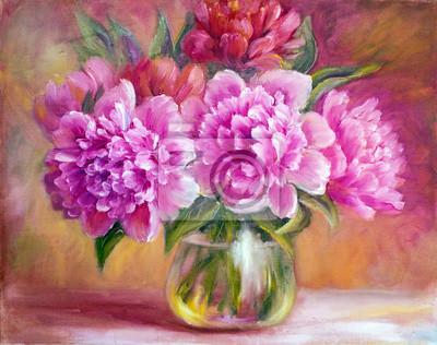 """Постер Цветы """"Постер 69000273-510316"""", 25x20 см, на бумаге от Artwall"""