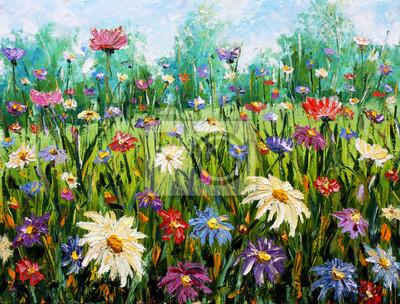 """Постер Цветы """"Постер 76354753-510316"""", 26x20 см, на бумаге от Artwall"""