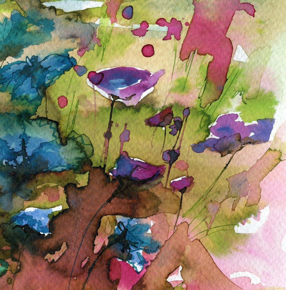 """Постер Цветы """"Постер 78551795-510316"""", 20x20 см, на бумаге от Artwall"""