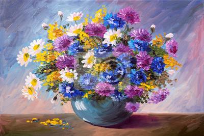 """Постер Цветы """"Постер 86254073-510316"""", 30x20 см, на бумаге от Artwall"""