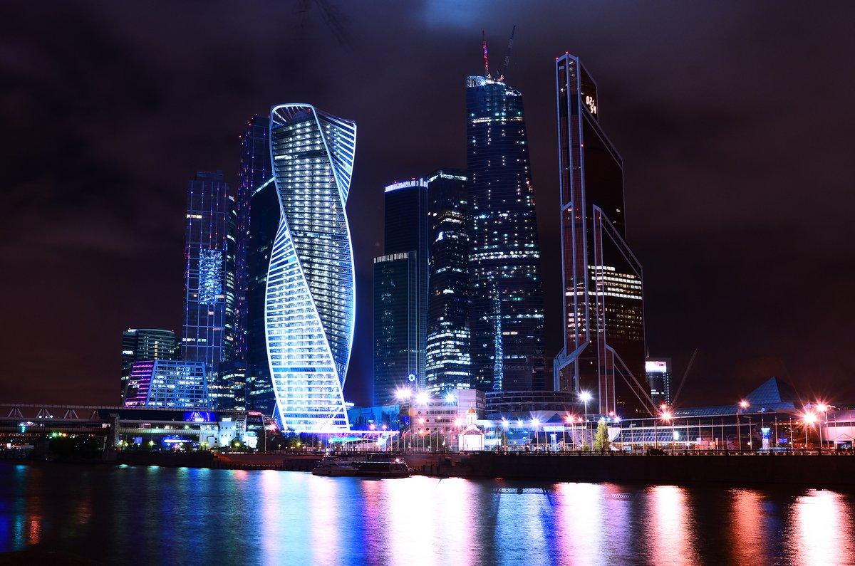 """Постер Города и карты """"Москва-Сити"""", 30x20 см, на бумаге от Artwall"""