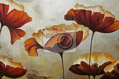 """Постер Цветы """"Постер 99888448-510316"""", 30x20 см, на бумаге от Artwall"""