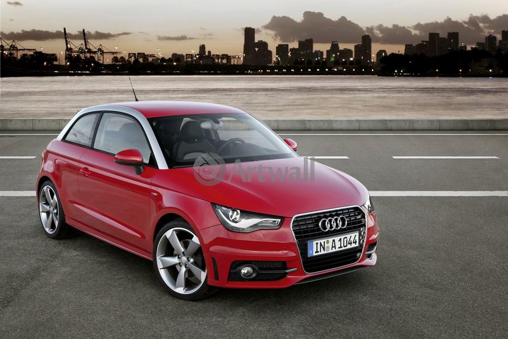 """Постер """"Audi A1"""", 30x20 см, на бумаге от Artwall"""