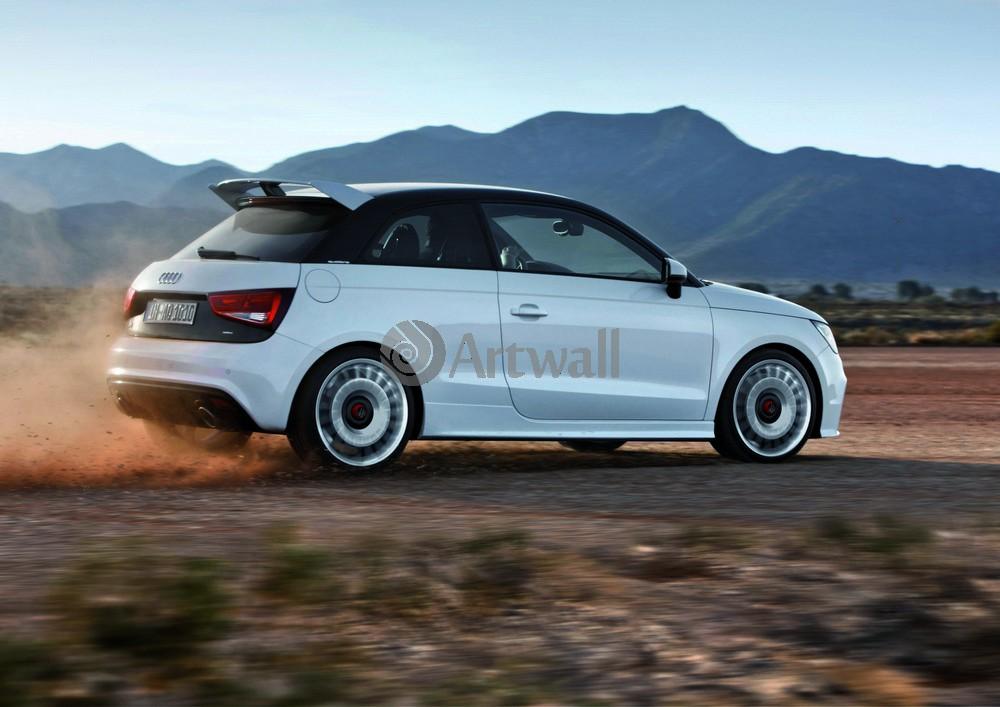 """Постер """"Audi A1"""", 28x20 см, на бумаге от Artwall"""