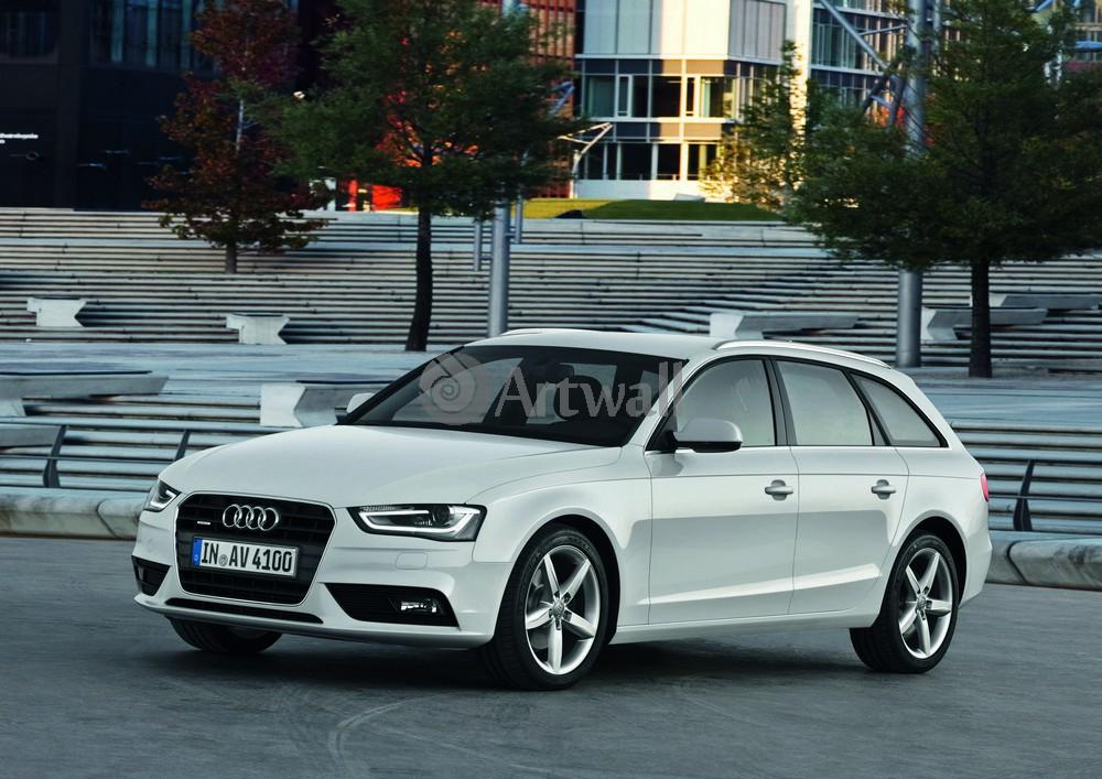 """Постер """"Audi A4 Avant"""", 28x20 см, на бумаге от Artwall"""