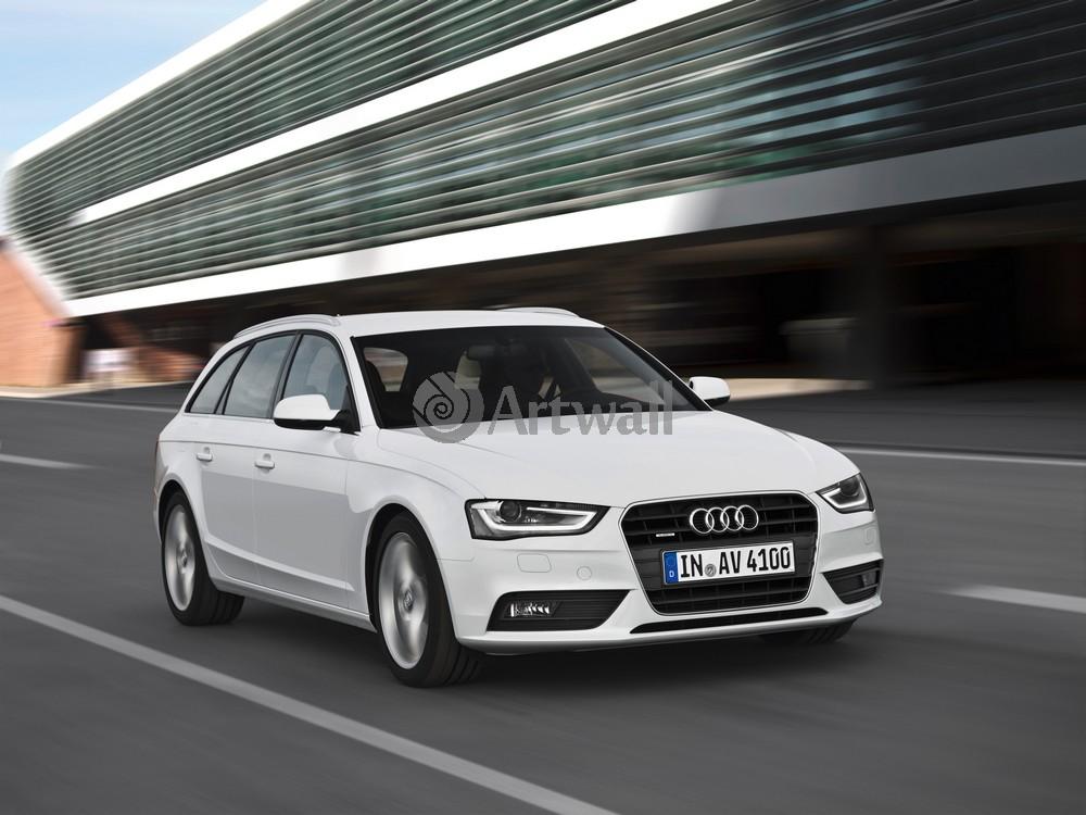 """Постер """"Audi A4 Avant"""", 27x20 см, на бумаге от Artwall"""
