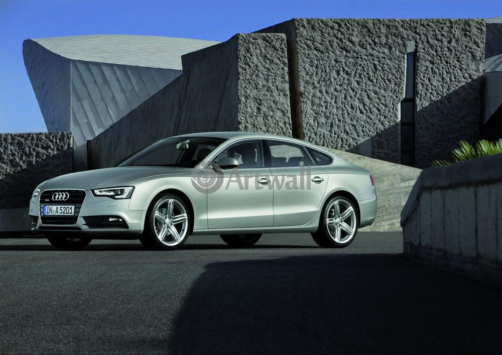 """Постер """"Audi A5 Sportback"""", 28x20 см, на бумаге от Artwall"""