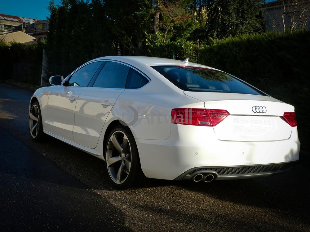 """Постер """"Audi A5 Sportback"""", 27x20 см, на бумаге от Artwall"""