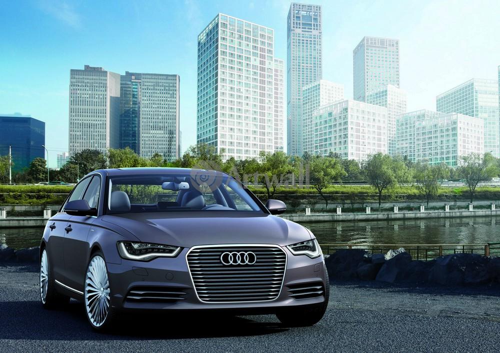 """Постер """"Audi A6"""", 28x20 см, на бумаге от Artwall"""