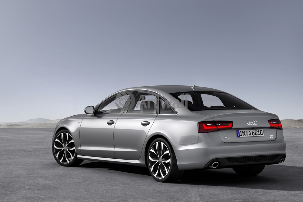 """Постер """"Audi A6"""", 30x20 см, на бумаге от Artwall"""