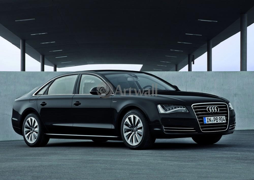 """Постер """"Audi A8"""", 28x20 см, на бумаге от Artwall"""