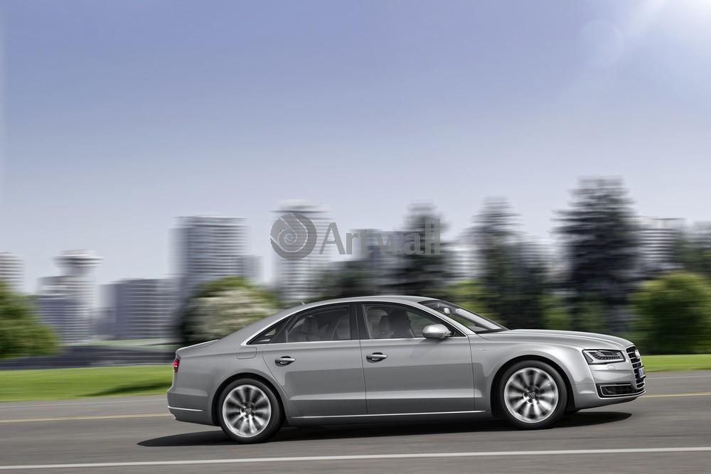 """Постер """"Audi A8"""", 30x20 см, на бумаге от Artwall"""