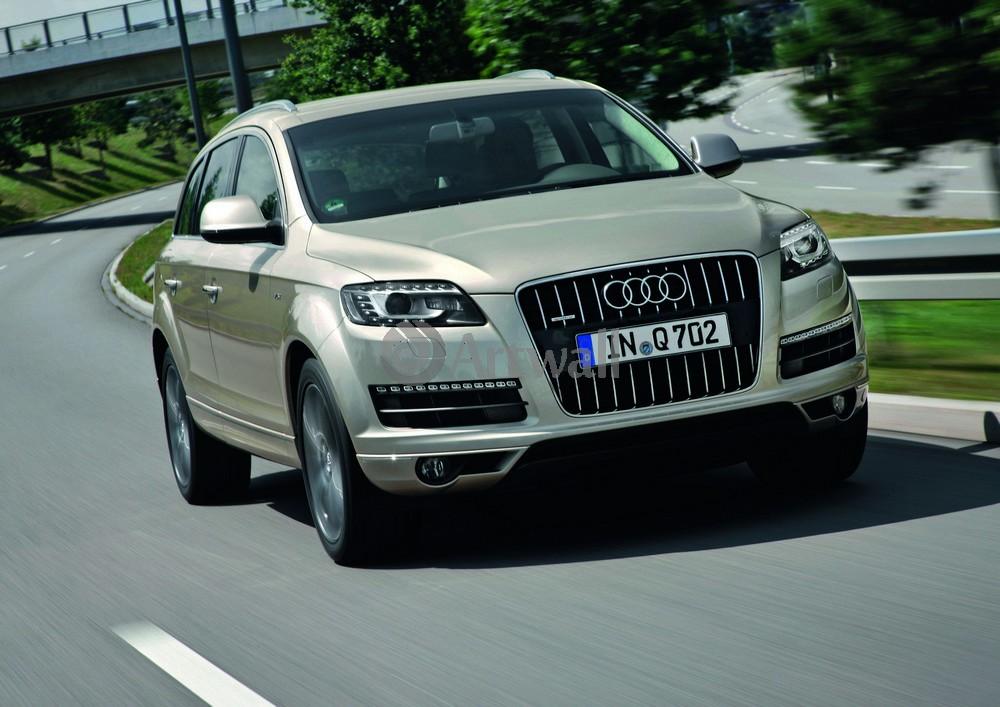 """Постер """"Audi Q7"""", 28x20 см, на бумаге от Artwall"""