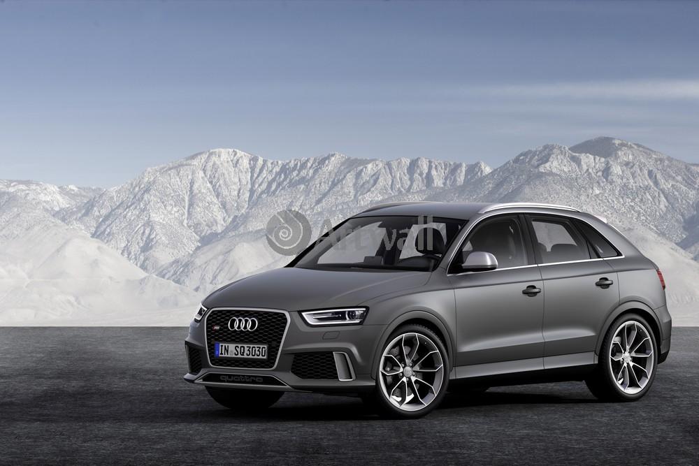 """Постер """"Audi RS Q3"""", 30x20 см, на бумаге от Artwall"""