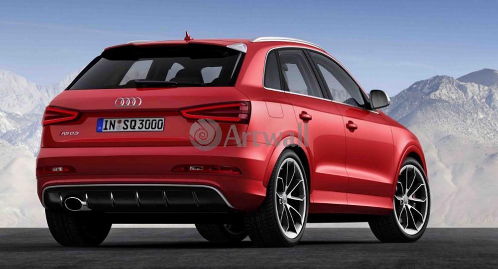 """Постер """"Audi RS Q3"""", 37x20 см, на бумаге от Artwall"""