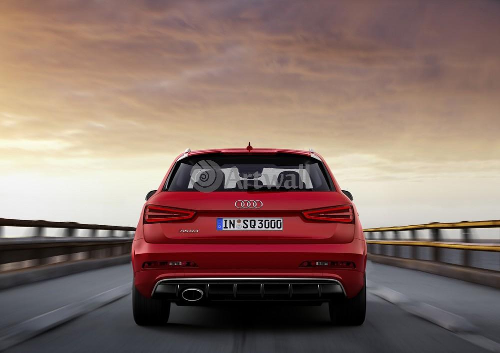 """Постер """"Audi RS Q3"""", 28x20 см, на бумаге от Artwall"""