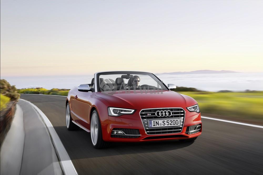 """Постер """"Audi S5 Cabriolet"""", 30x20 см, на бумаге от Artwall"""