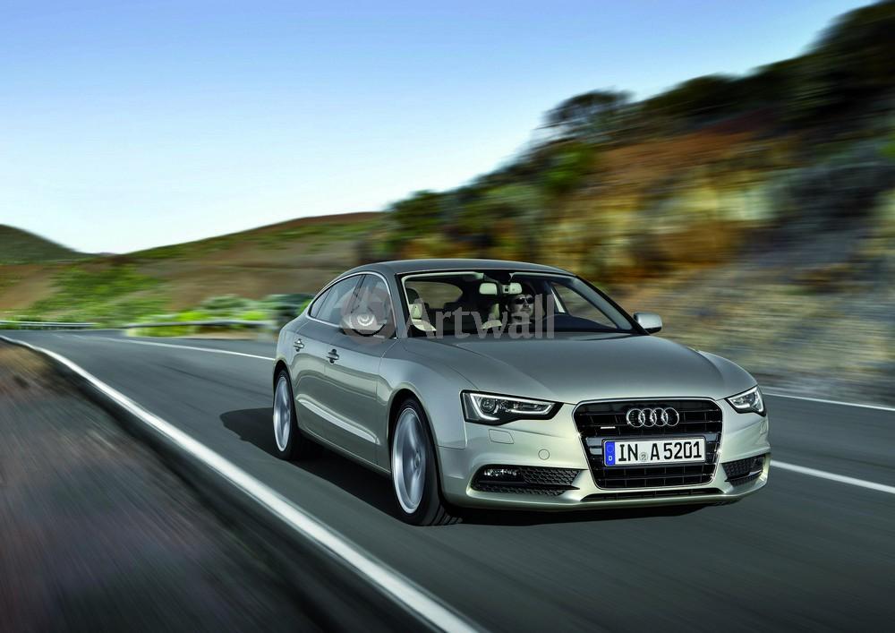 """Постер """"Audi S5 Sportback"""", 28x20 см, на бумаге от Artwall"""