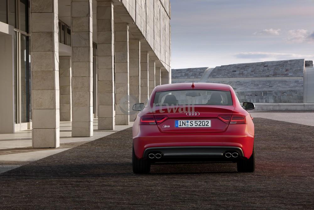 """Постер """"Audi S5 Sportback"""", 30x20 см, на бумаге от Artwall"""