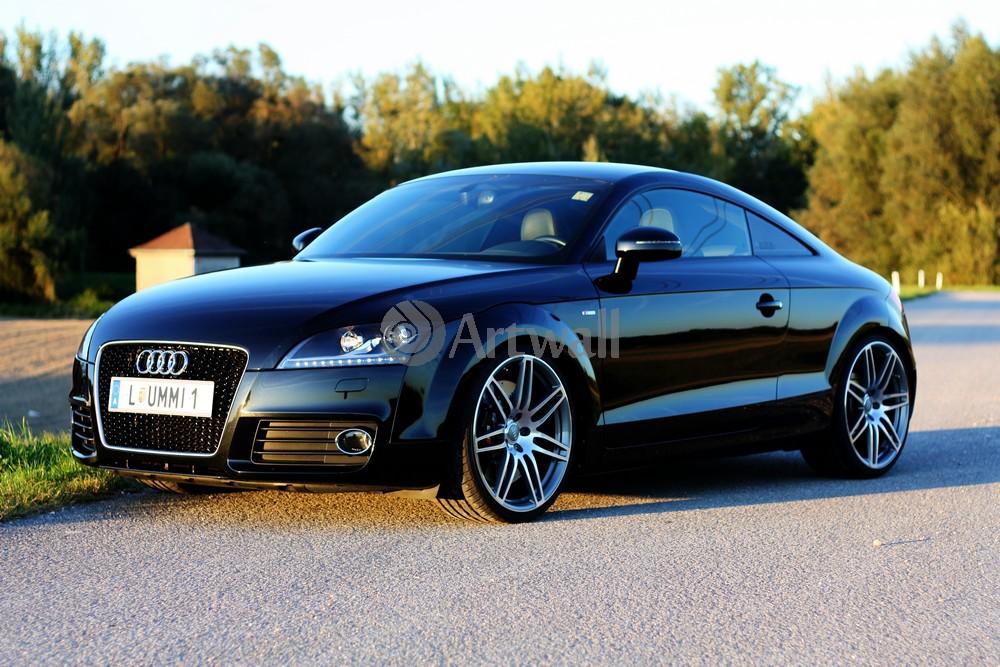 """Постер """"Audi TT Coupe"""", 30x20 см, на бумаге от Artwall"""
