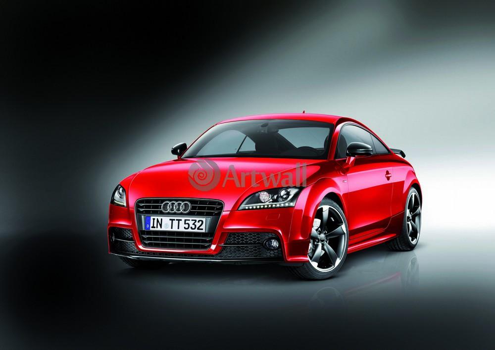 """Постер """"Audi TT Coupe"""", 28x20 см, на бумаге от Artwall"""