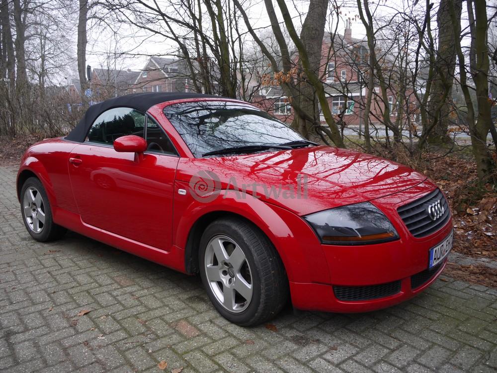 """Постер """"Audi TT Roadster"""", 27x20 см, на бумаге от Artwall"""
