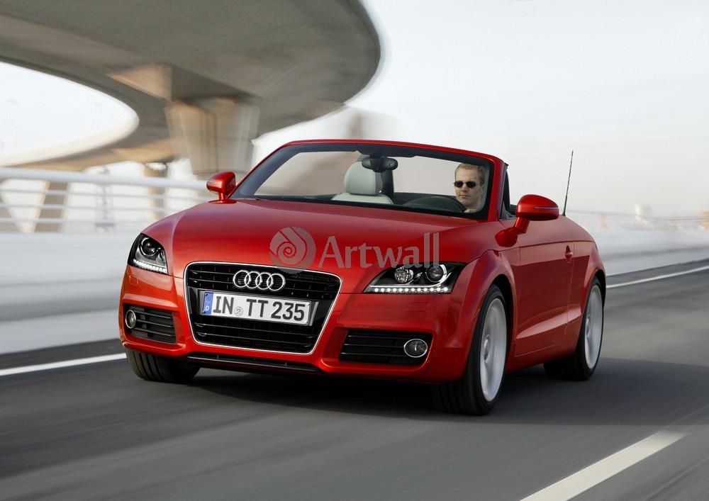 """Постер """"Audi TT Roadster"""", 28x20 см, на бумаге от Artwall"""