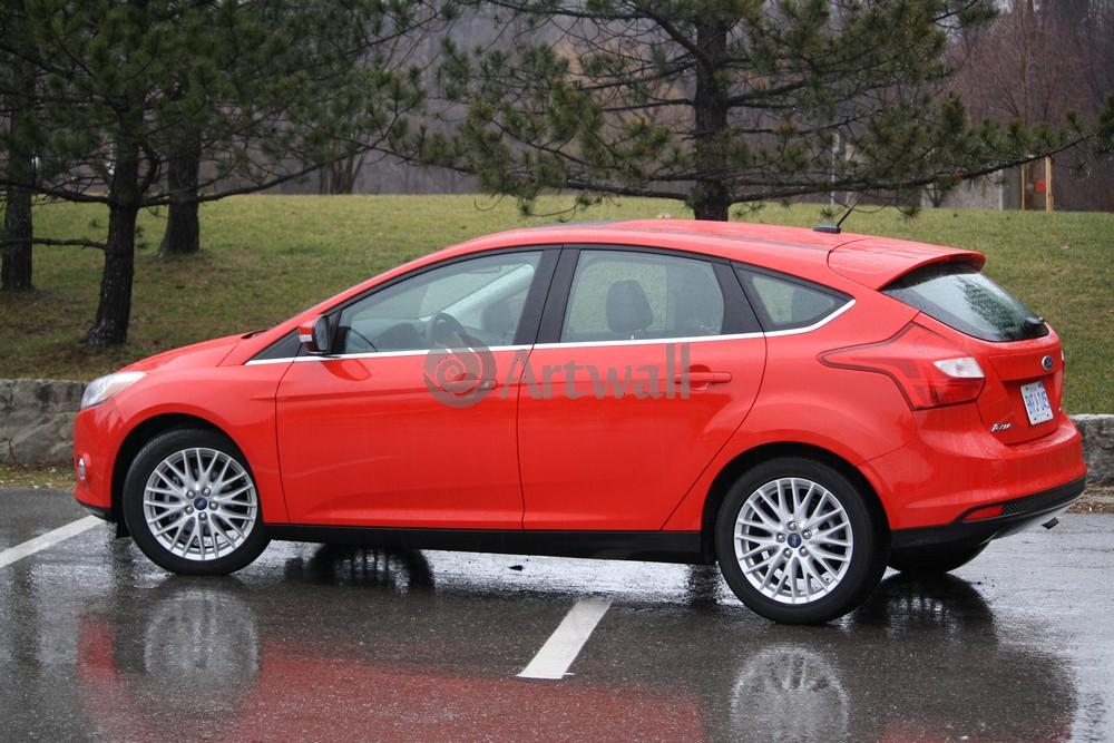 "Постер ""Ford Focus Hatchback"", 30x20 см, на бумаге от Artwall"