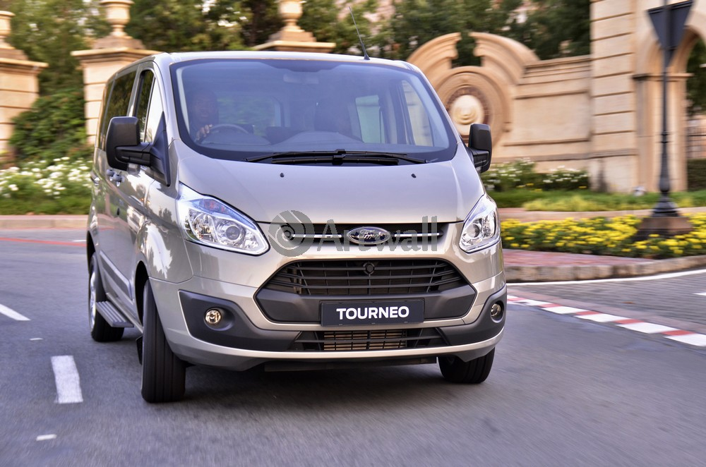 "Постер ""Ford Transit Tourneo"", 30x20 см, на бумаге от Artwall"