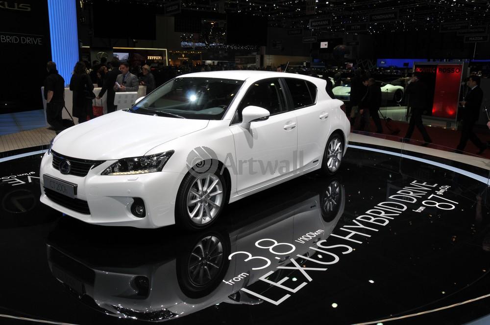 """Постер """"Lexus CT 200h"""", 30x20 см, на бумаге от Artwall"""