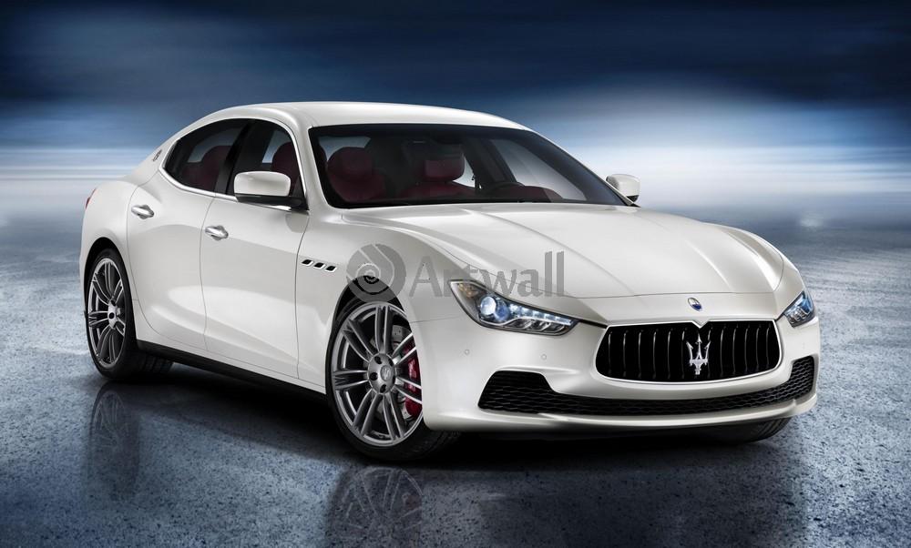 """Постер """"Maserati Ghibli"""", 33x20 см, на бумаге от Artwall"""