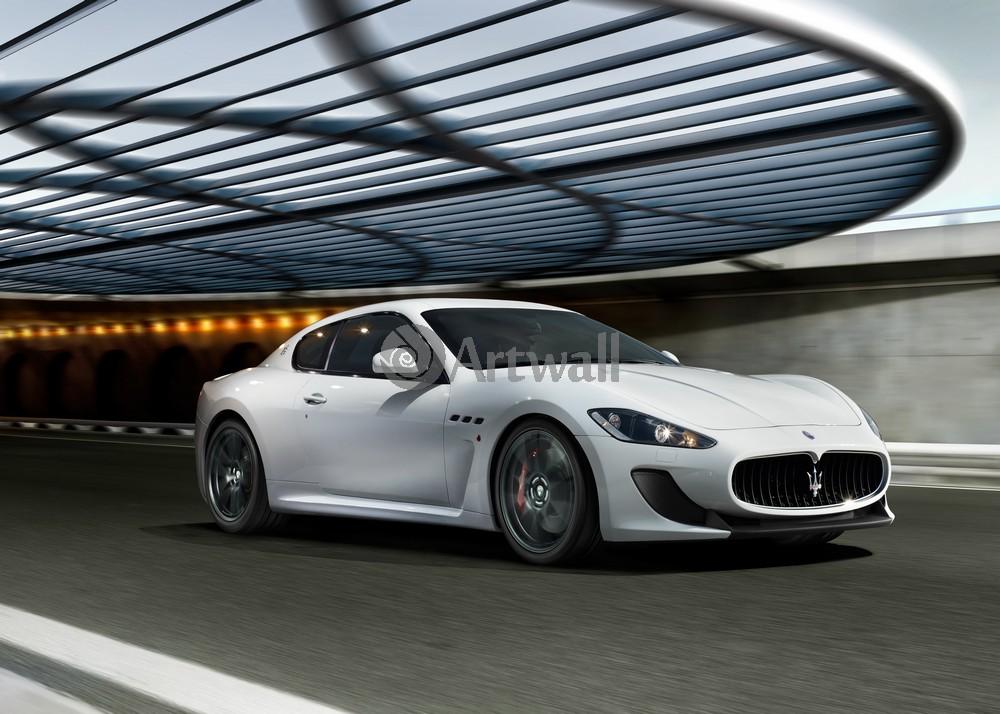 """Постер """"Maserati Ghibli"""", 28x20 см, на бумаге от Artwall"""