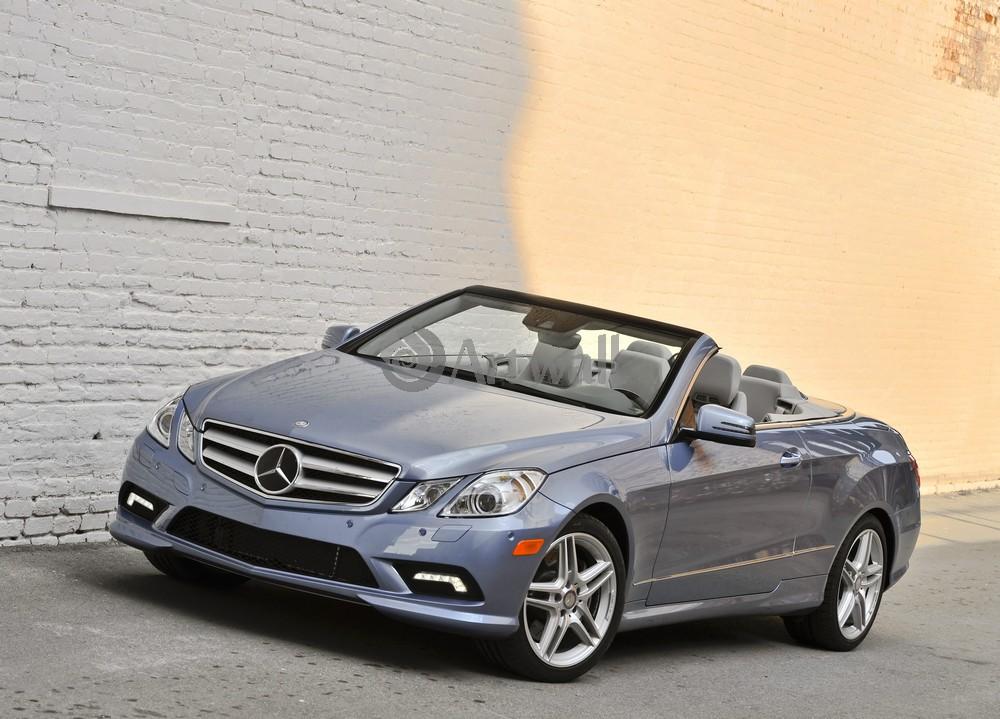 "Постер ""Mercedes-Benz E Cabriolet"", 28x20 см, на бумаге от Artwall"