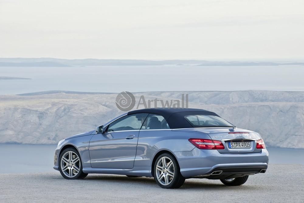 "Постер ""Mercedes-Benz E Cabriolet"", 30x20 см, на бумаге от Artwall"