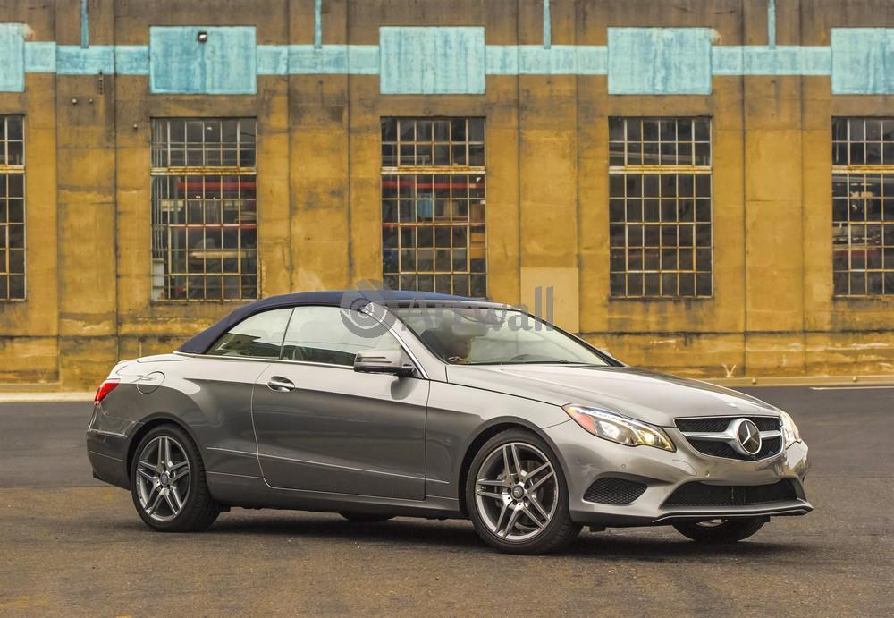 "Постер ""Mercedes-Benz E Cabriolet"", 29x20 см, на бумаге от Artwall"