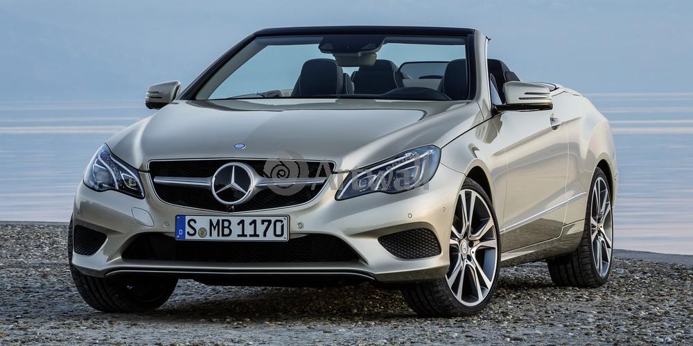 "Постер ""Mercedes-Benz E Cabriolet"", 40x20 см, на бумаге от Artwall"