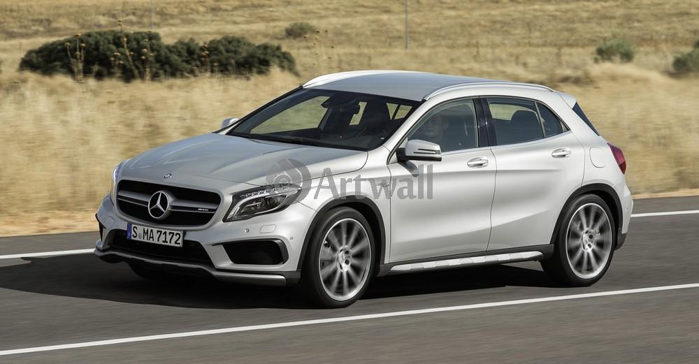"Постер ""Mercedes-Benz GLA 45 AMG"", 38x20 см, на бумаге от Artwall"