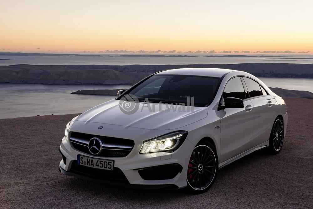 "Постер ""Mercedes-Benz GLA 45 AMG"", 30x20 см, на бумаге от Artwall"