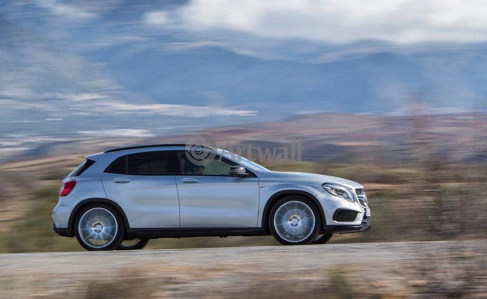 "Постер ""Mercedes-Benz GLA 45 AMG"", 33x20 см, на бумаге от Artwall"