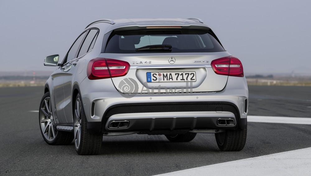 "Постер ""Mercedes-Benz GLA 45 AMG"", 35x20 см, на бумаге от Artwall"