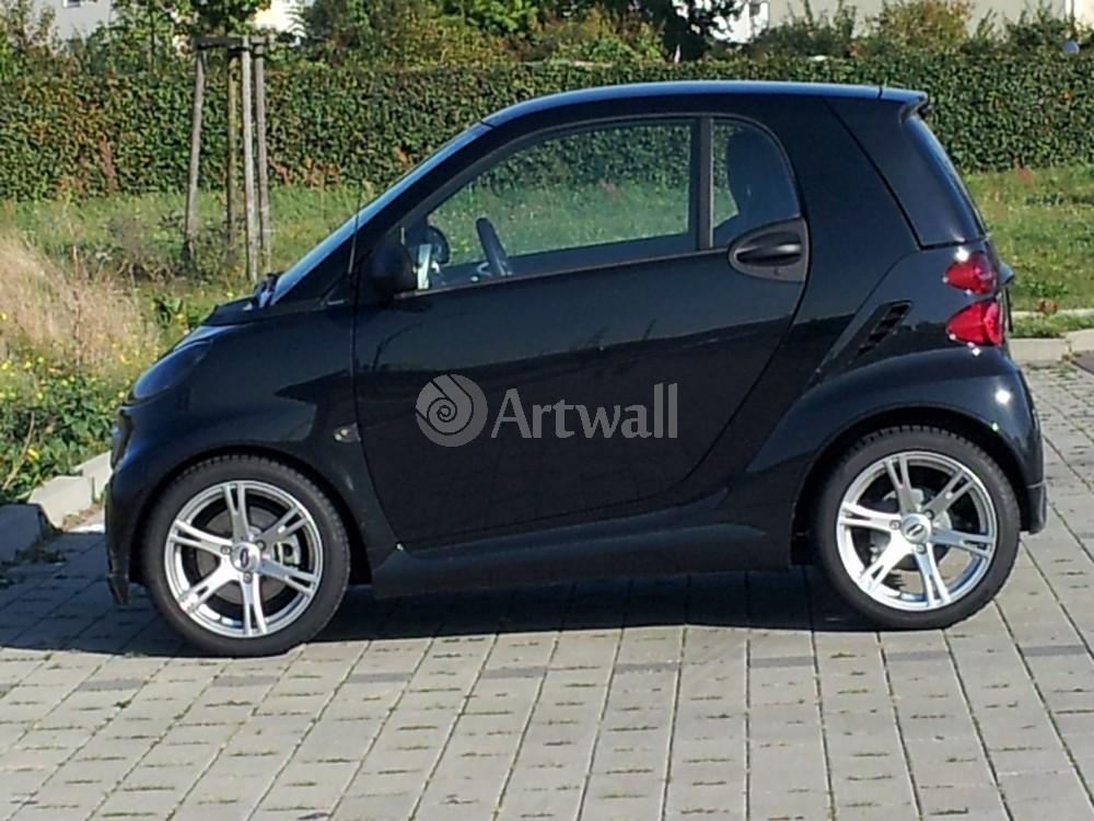 """Постер """"Smart ForTwo Brabus"""", 27x20 см, на бумаге от Artwall"""