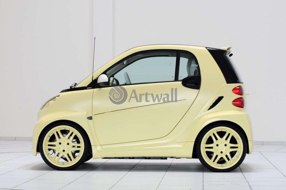 """Постер """"Smart ForTwo Brabus"""", 30x20 см, на бумаге от Artwall"""