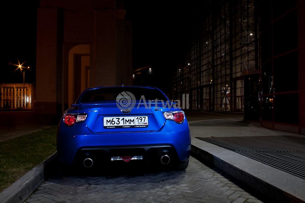 """Постер """"Subaru BRZ"""", 30x20 см, на бумаге от Artwall"""