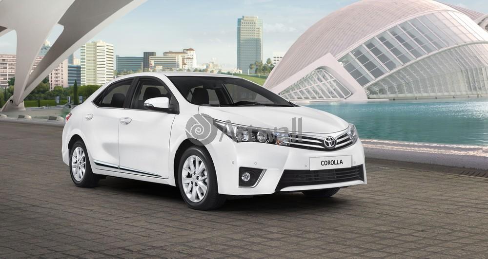 """Постер """"Toyota Corolla"""", 38x20 см, на бумаге от Artwall"""