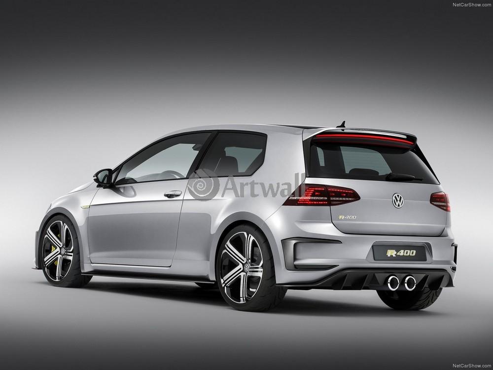 "Постер ""Volkswagen Golf 3D"", 27x20 см, на бумаге от Artwall"