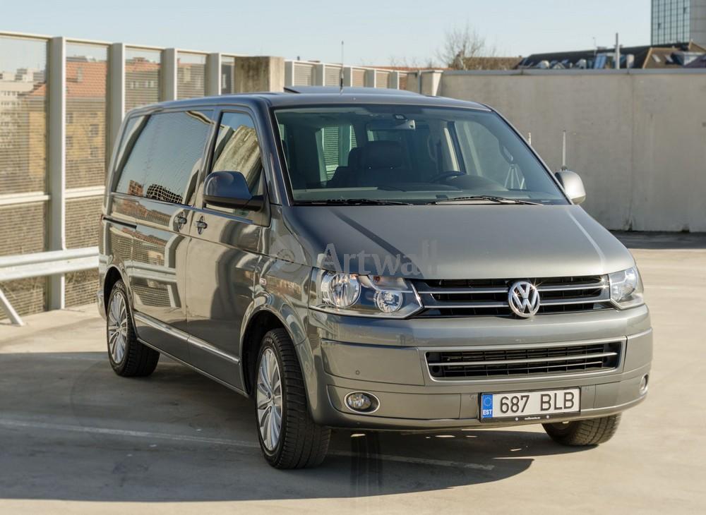 """Постер """"Volkswagen Multivan"""", 27x20 см, на бумаге от Artwall"""