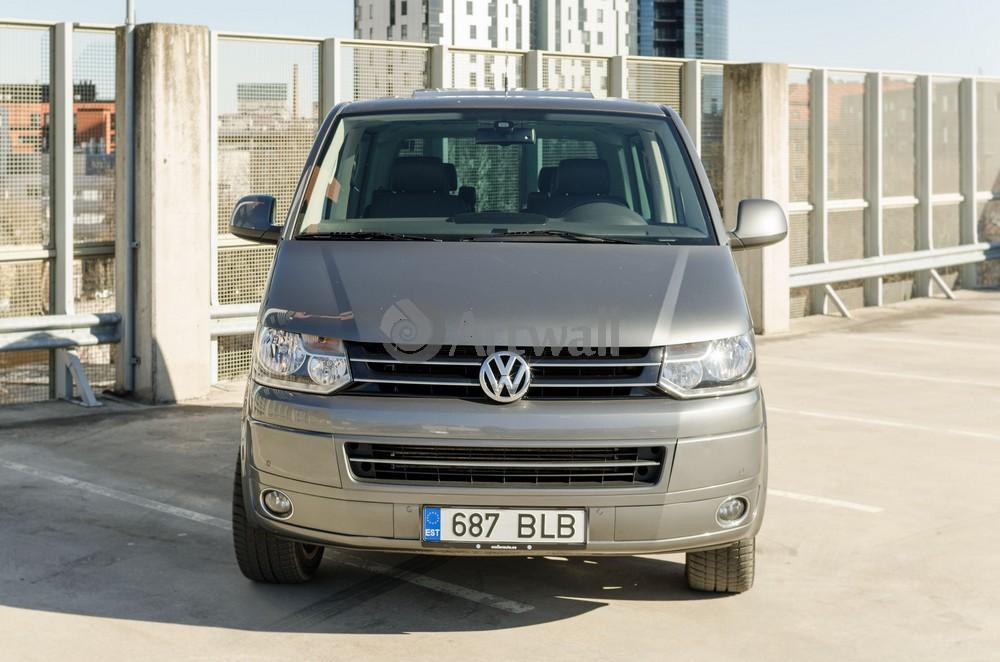 """Постер """"Volkswagen Multivan"""", 30x20 см, на бумаге от Artwall"""