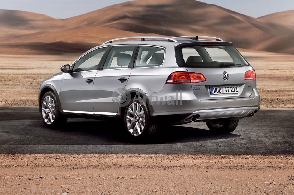 "Постер ""Volkswagen Passat Alltrack"", 30x20 см, на бумаге от Artwall"
