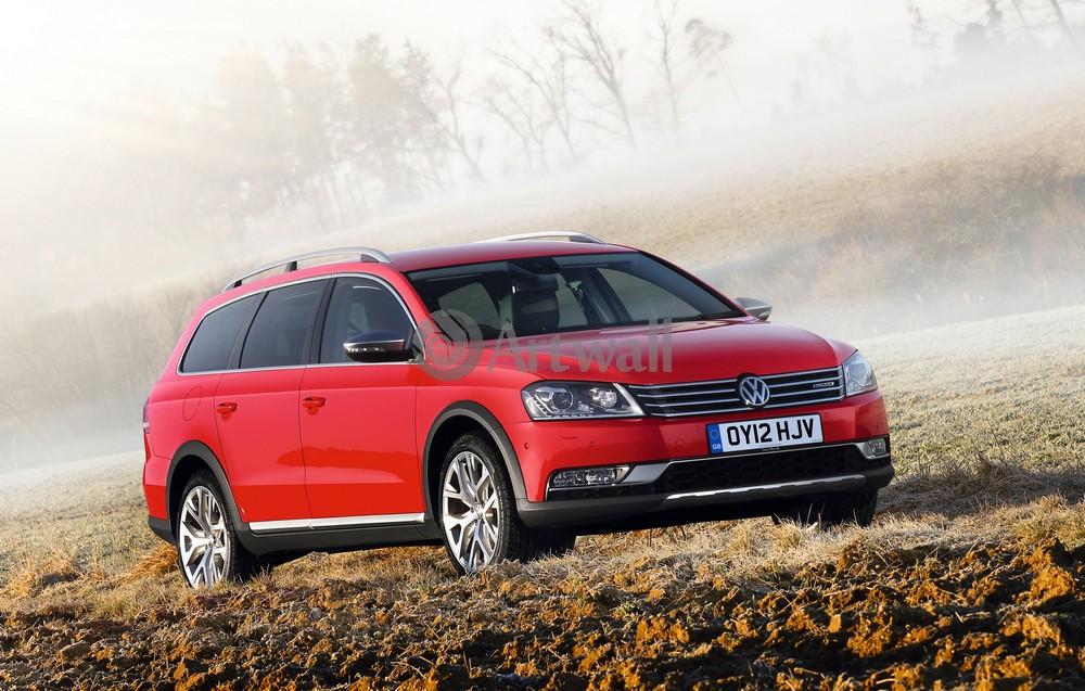 "Постер ""Volkswagen Passat Alltrack"", 31x20 см, на бумаге от Artwall"